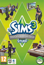 The Sims 3: Design & High Tech Stuff