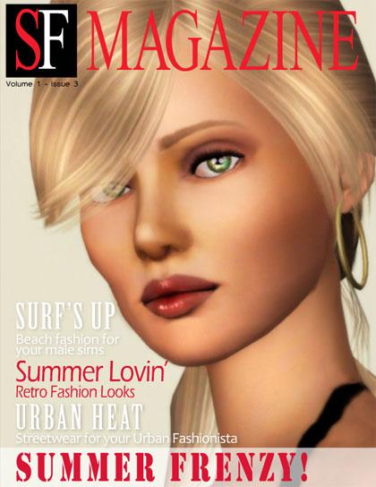 Sims Fashion Magazine Issue 3