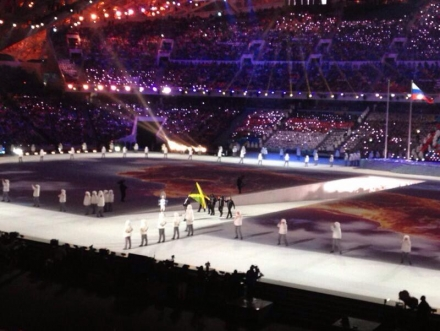 2014 Sotši taliolümpiamängude avatseremoonia