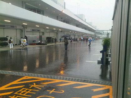 Jaapani GP kvalifikatsioon edasi lükatud