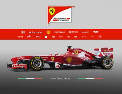Scuderia Ferrari F138 esitlus - 2013