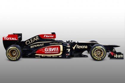 Lotus F1 Team E21 esitlus - 2013
