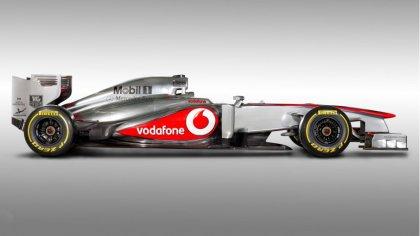 Vodafone McLaren Mercedes MP4-28 esitlus - 2013