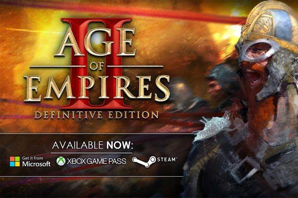 Age of Empires II: Definitive Edition nüüd väljas!