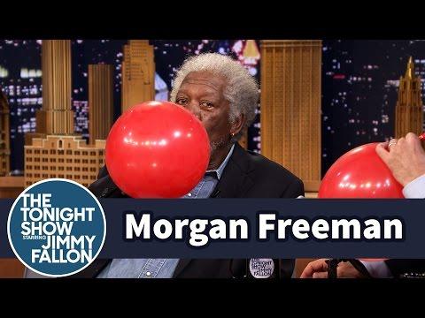 Morgan Freemani heeliumi hääl
