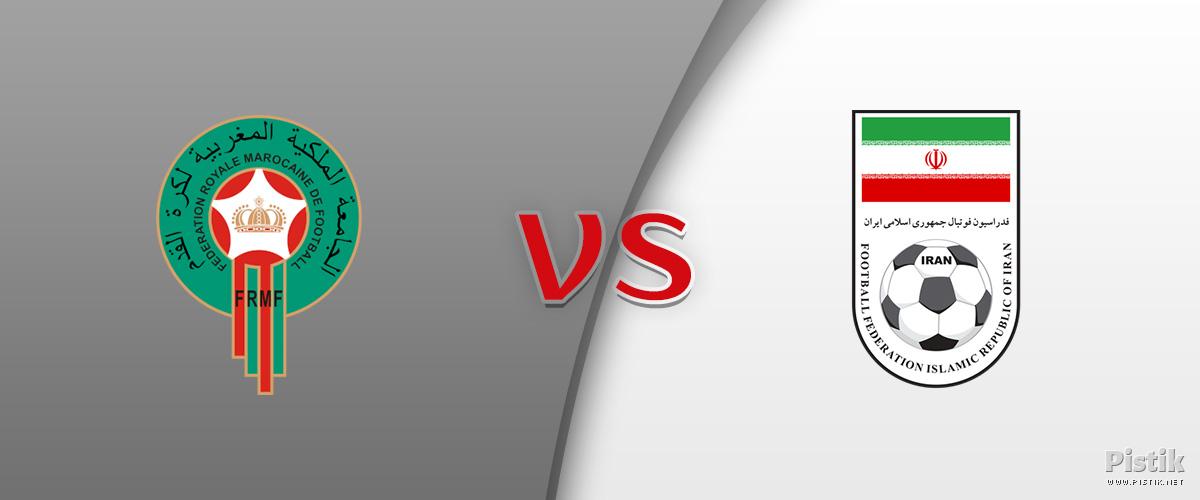 Iraani ja Maroko tasavägine 1 : 0