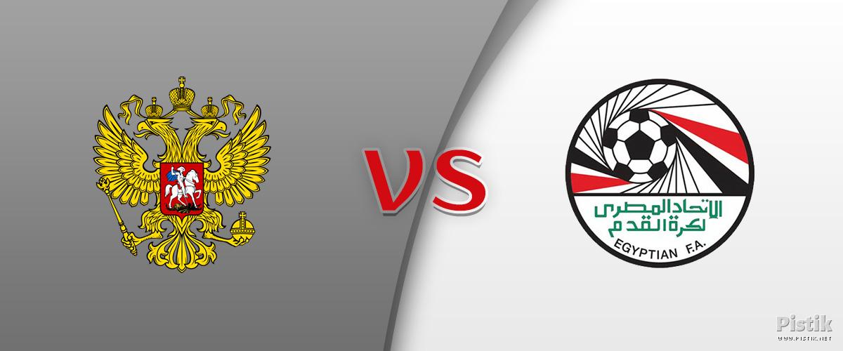 Venemaa alistas Egiptuse 3 : 1