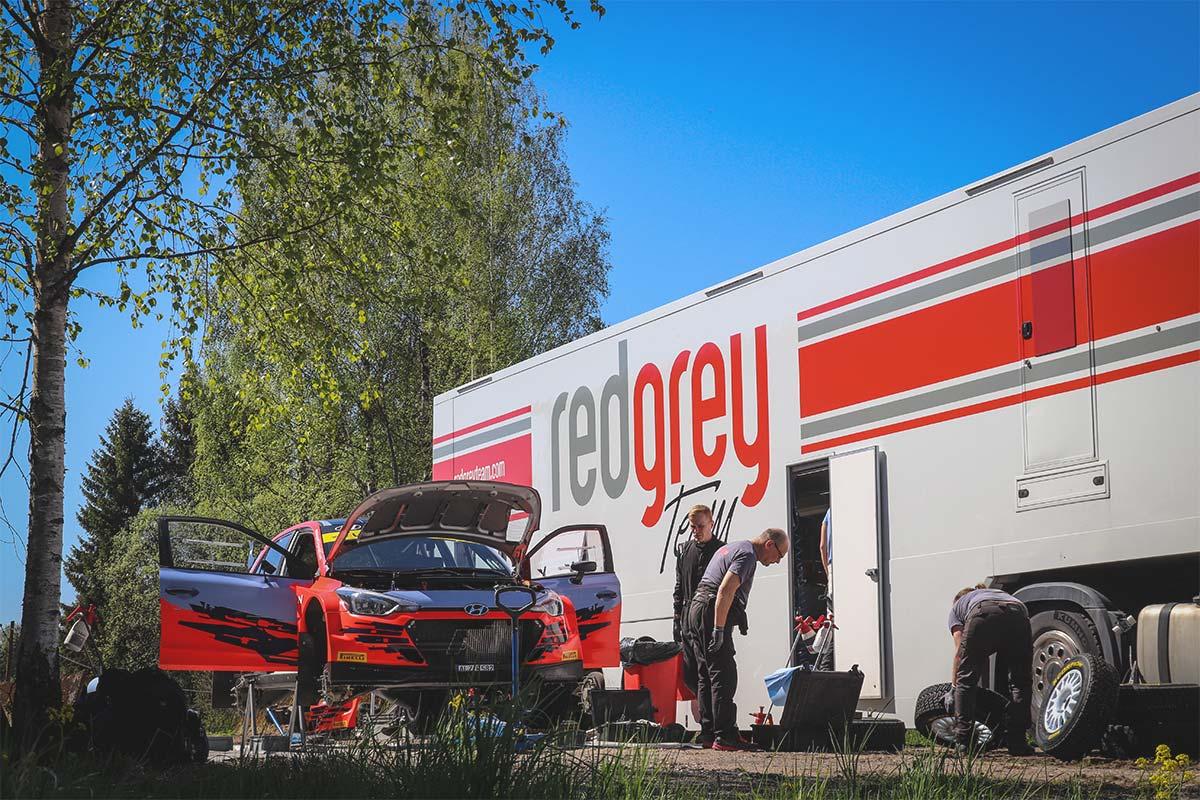 18. Lõuna-Eesti Ralli nimisponsoriks saab RedGrey Team