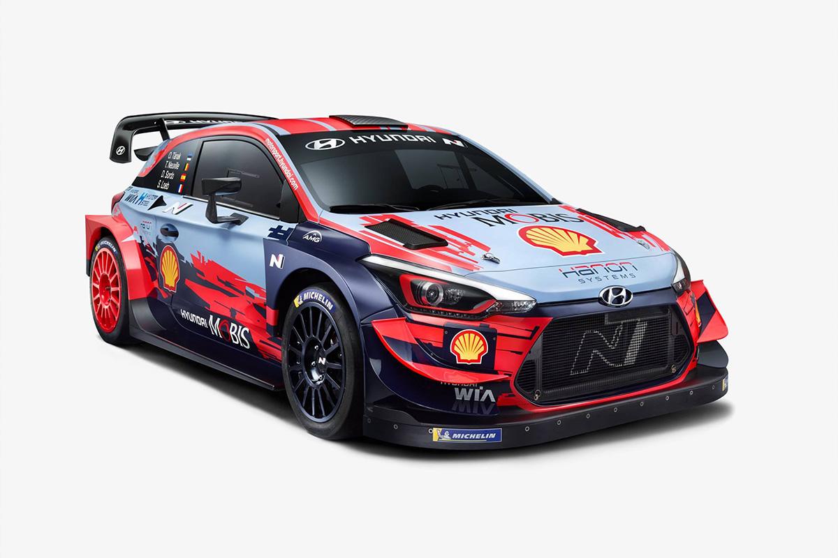 Hyundai 2020. hooaja WRC masin millega Tänak asub tiitlit kaitsma (pildid)