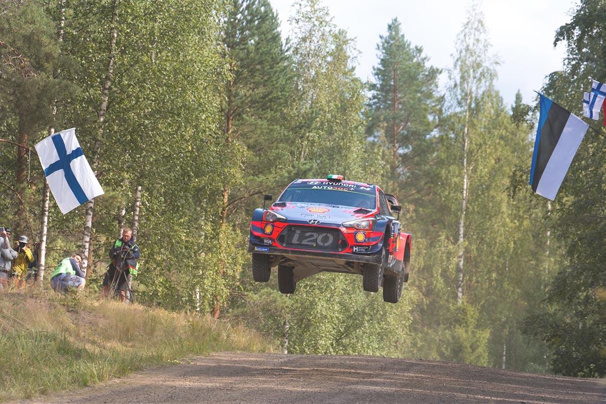 Hyundai teatas oma koosseisu Soome MM-ralliks