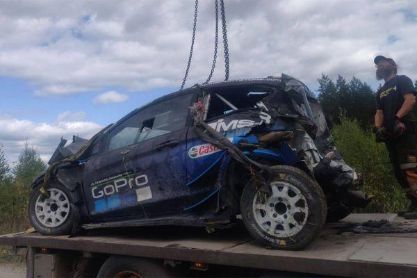 Paddon lõhkus testsõidul auto ja Soomes ei stardi
