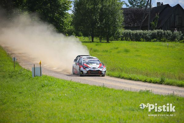 Tänak Rally Estonia testikatse kiireim