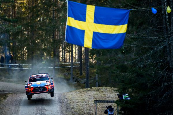 Tänak Rootsi ralli testikatsel viies
