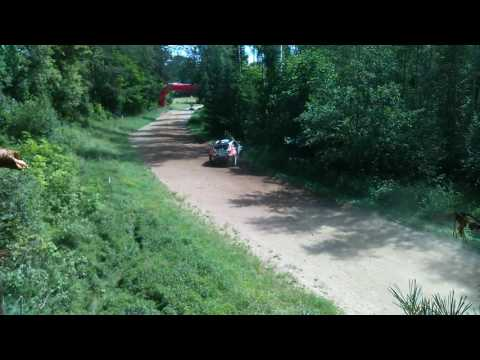 auto24 Rally Estonia 2016 - 2. päev, SS4, Lukyanuk napp pääsemine