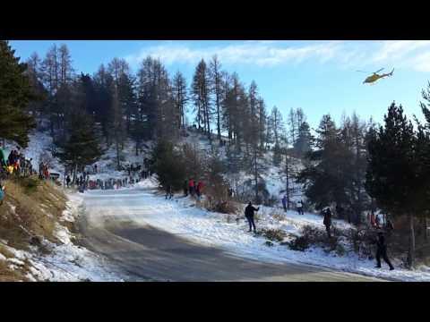 Monte Carlo ralli 2017 - 3. päev, kiiruskatse 7, meelelahutus