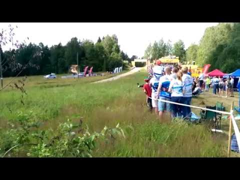 auto24 Rally Estonia 2016 - 2. päev, SS6, Lukyanuk trampliinil