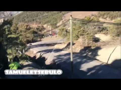 Monte Carlo ralli 2017 - 4. päev, katse 13, Neuville äpardus teise nurga alt
