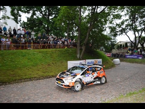 auto24 Rally Estonia 2016 - 1. päev, SS1, Tartu linnakatse pikk