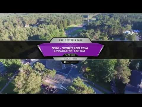auto24 Rally Estonia 2016 - 2. päev, SS10, Elva linnakatse pikem