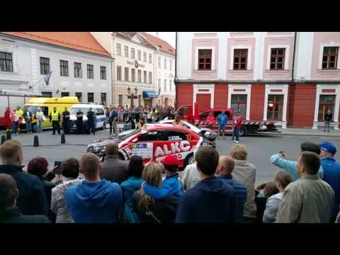 auto24 Rally Estonia 2016 - 1. päev, SS1, Tartu linnakatse, Plangi start