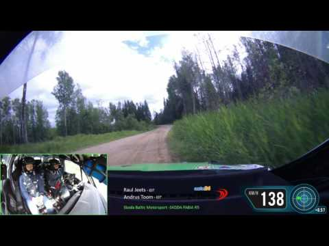 auto24 Rally Estonia 2016 - rallieelne test, Raul Jeets