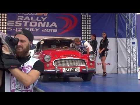 auto24 Rally Estonia 2016 - 1. päev, stardipoodium, Historic autod