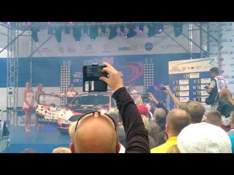 auto24 Rally Estonia 2016 - 1. päev, stardipoodium, Lukyanuk