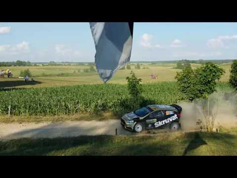 Poola ralli 2016 - kiireimad kiiruskatset läbimas
