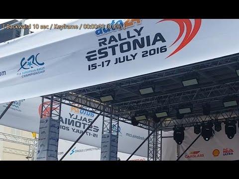 auto24 Rally Estonia 2016 - 1. päev, stardipoodium 2