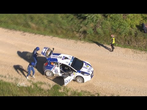 auto24 Rally Estonia 2016 - 2. päev, SS8, Habaj rehvivahetus