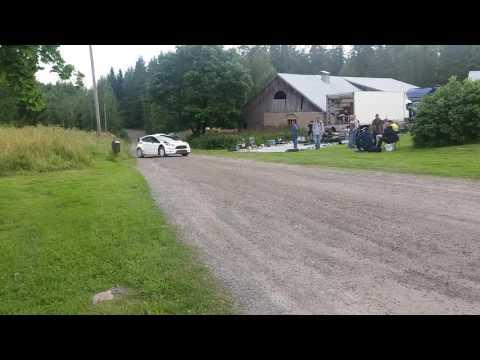 Soome ralli 2016 - rallieelne test, Tänak
