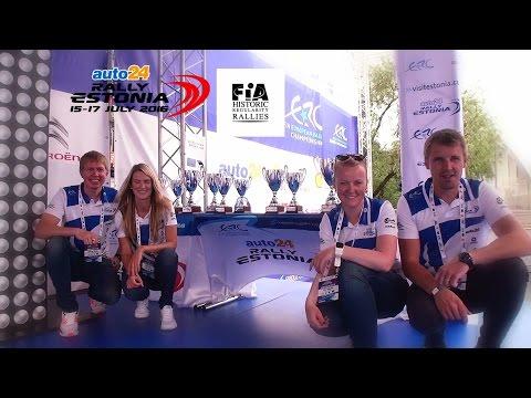 auto24 Rally Estonia 2016 - 3. päev, Historic klassi autasustamine
