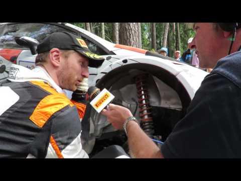 auto24 Rally Estonia 2016 - 3. päev, SS15, Lukyanuki esimene intervjuu