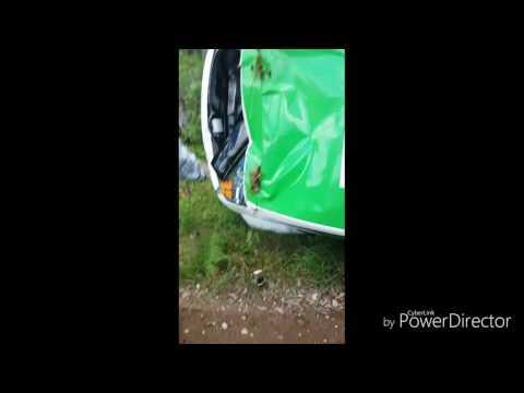 auto24 Rally Estonia 2016 - 2. päev, SS4, Tamrazovi masin pärast väljasõitu