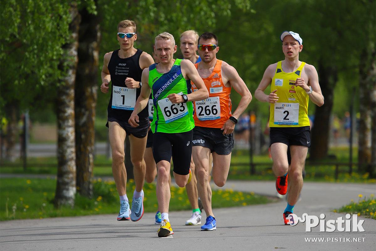 48. jooksu ümber Harku järve 2019 pildid ja tulemused
