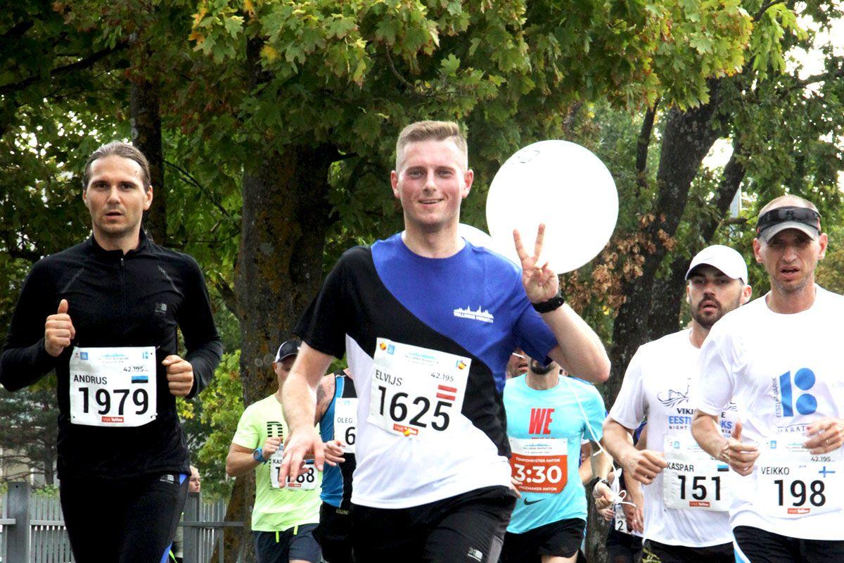 Tallinna Maraton 2018 - maratoni pildigaleriid