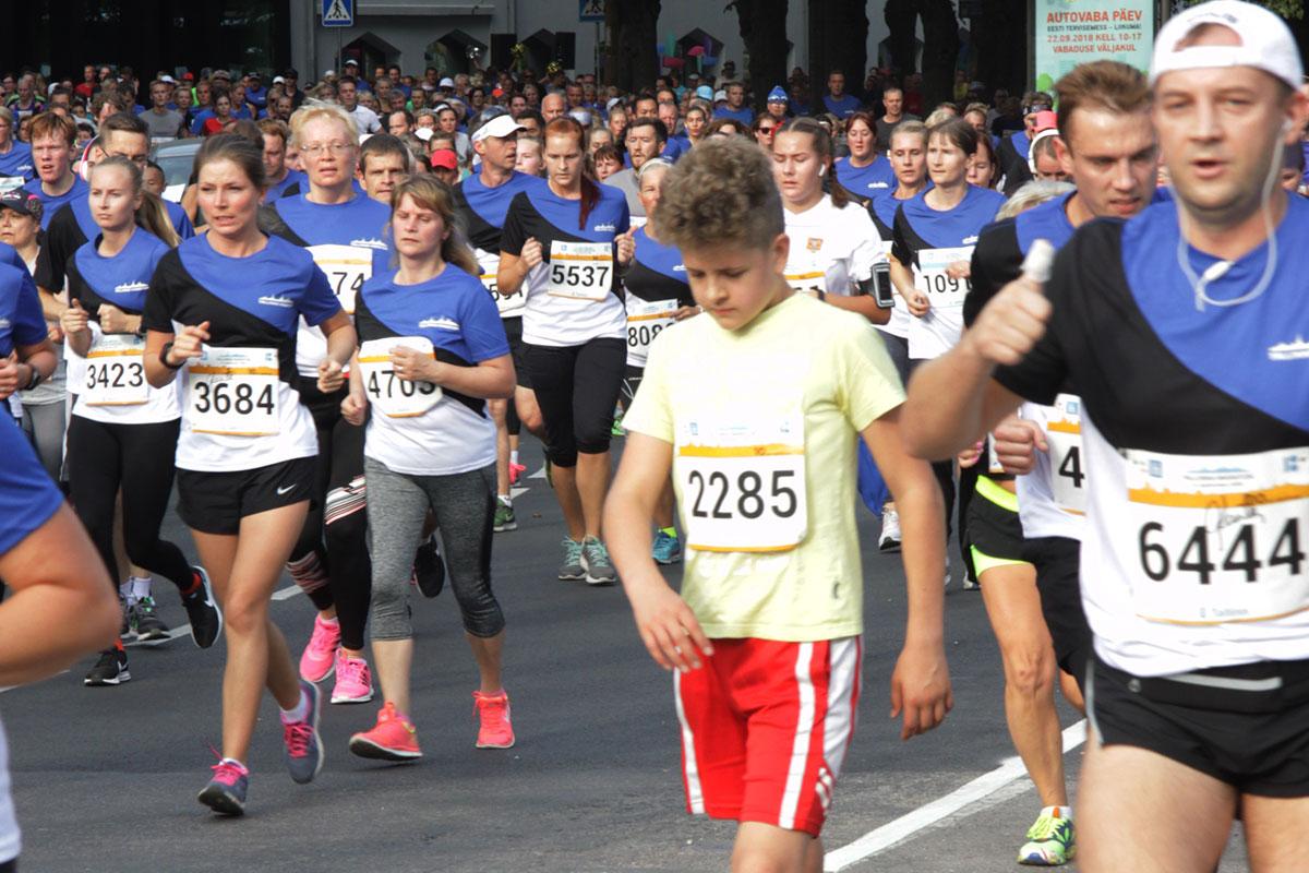 Tallinna Maraton 2018 - Sügisjooks pildigaleriid