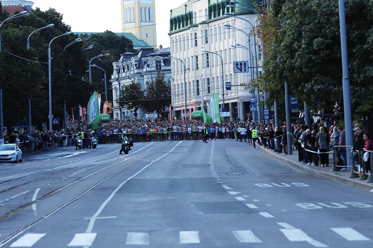Nädalavahetusel toimuvad erinevad Tallinna Maraton 2018 jooksuvõistlused