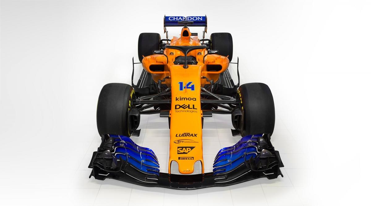 Vormel-1 esmaesitlus 2018: McLaren MCL33