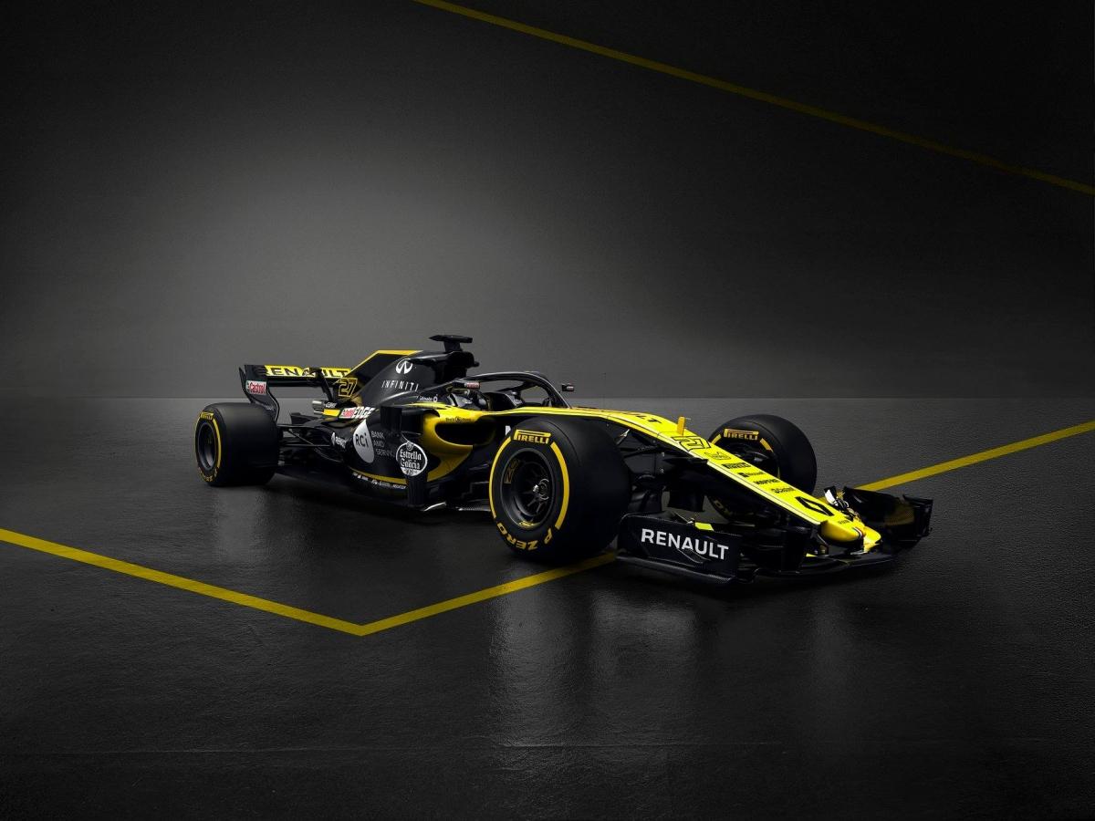 Vormel-1 esmaesitlus 2018: Renault F1 R.S. 18