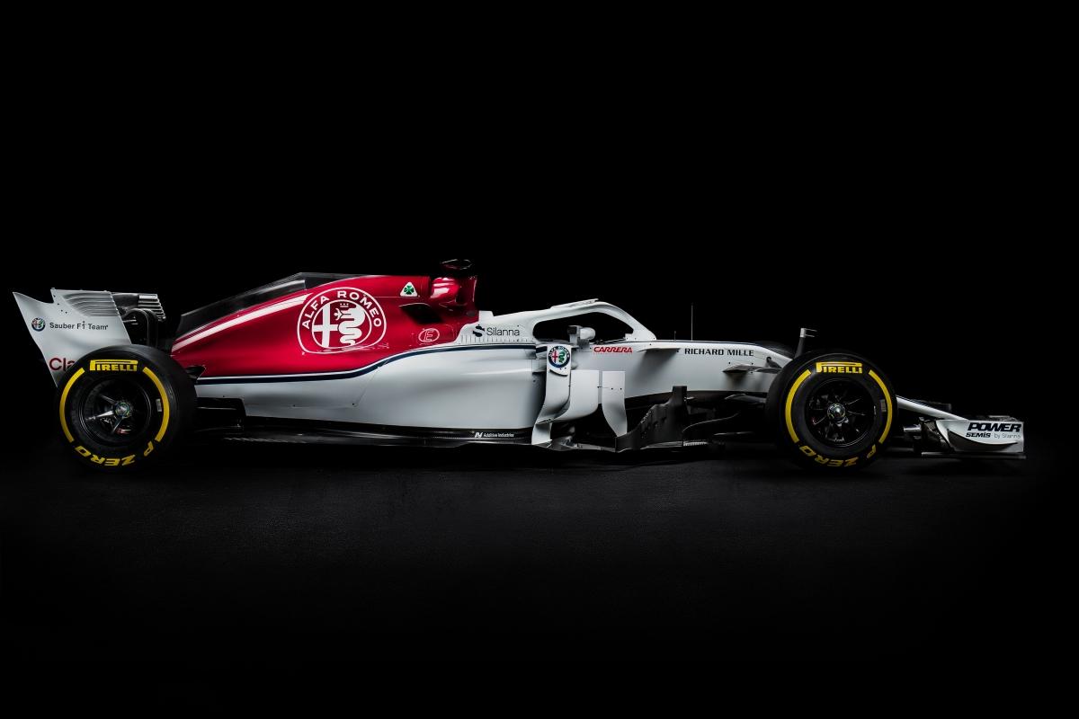 Vormel-1 esmaesitlus 2018: Alfa Romeo Sauber C37