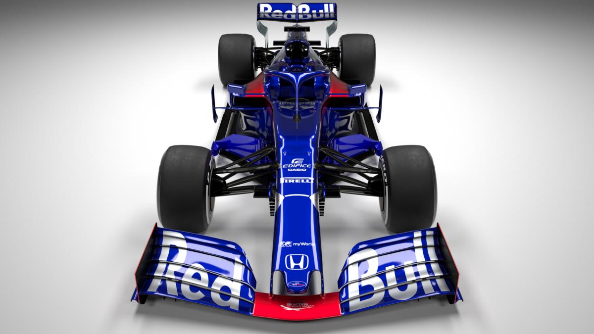 Toro Rosso esitles oma uut STR14 võistlusmasinat (pildid)