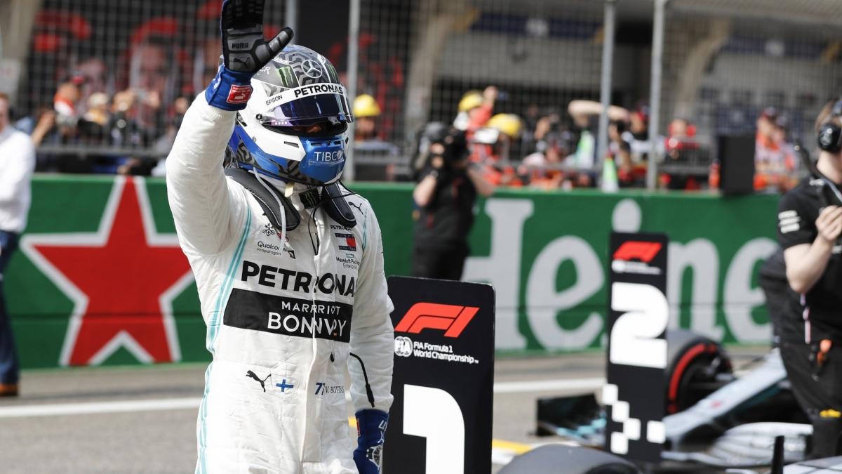 Valtteri Bottas võitis Hiina GP 2019 kvalifikatsiooni