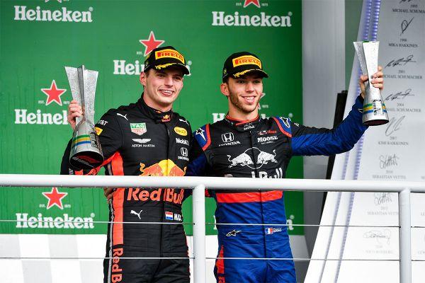 Verstappen võitis Brasiilias, Hamilton sai karistada ja langes poodiumikohalt