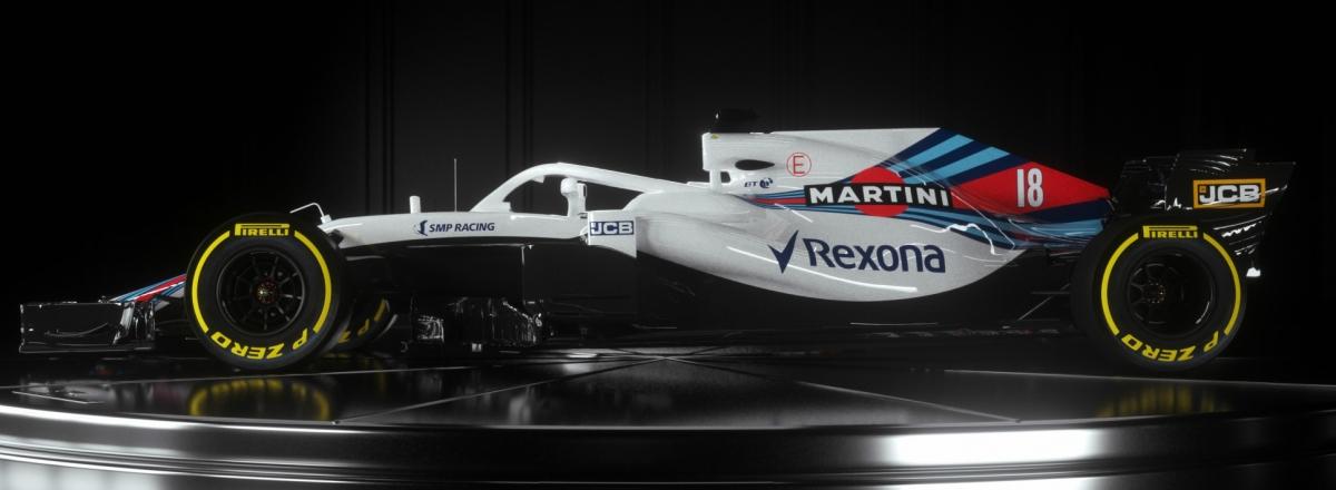 Vormel-1 esmaesitlus 2018: Williams Martini Racing FW41