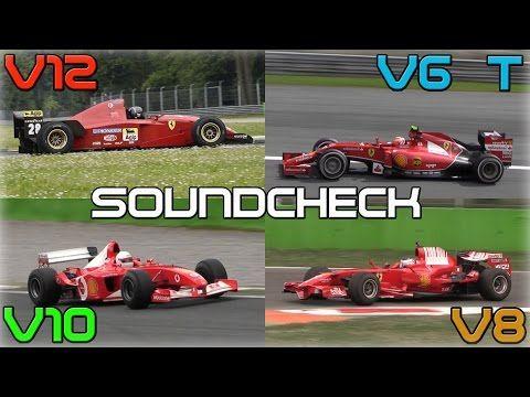 Ferrari V6 turbo, V8, V10 ja V12
