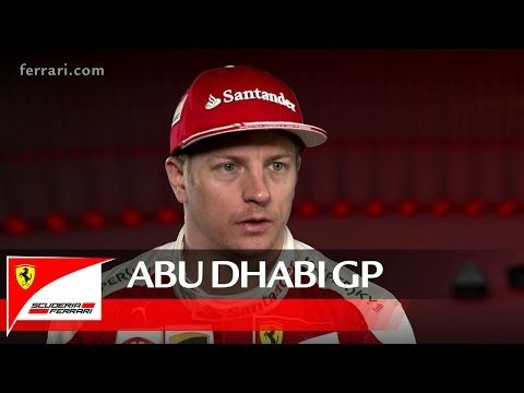 Araabia Ühendemiraatide GP 2016 - eelvaade, Ferrari, Kimi Räikkönen